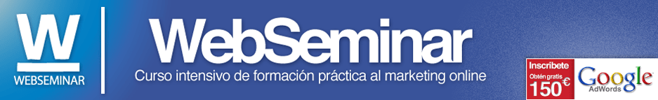 Seminario de Analitica Web en Valencia 9 Junio